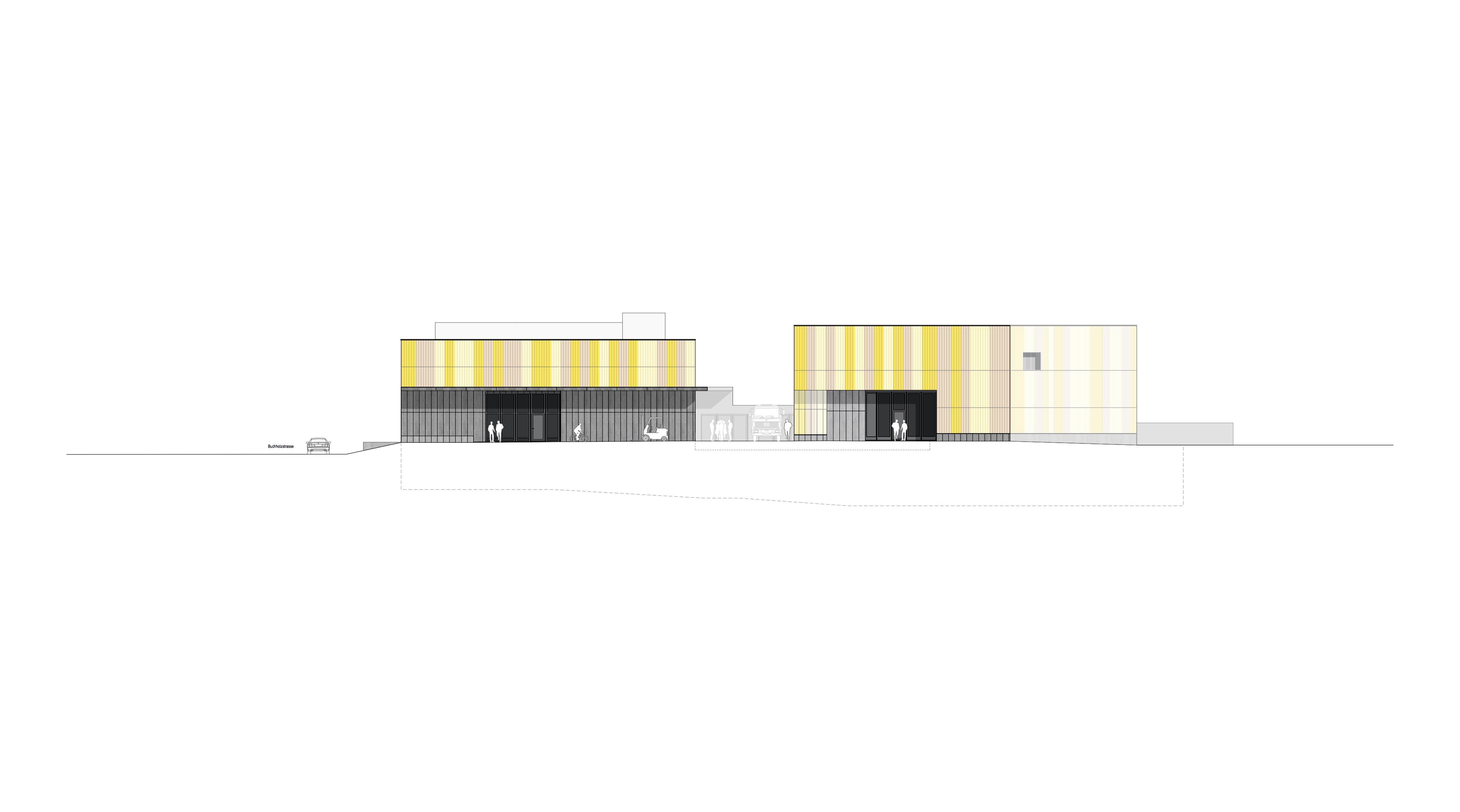 Werk- Ökihof und Feuerwehrgebäude, Eggenspieler Architekten AG