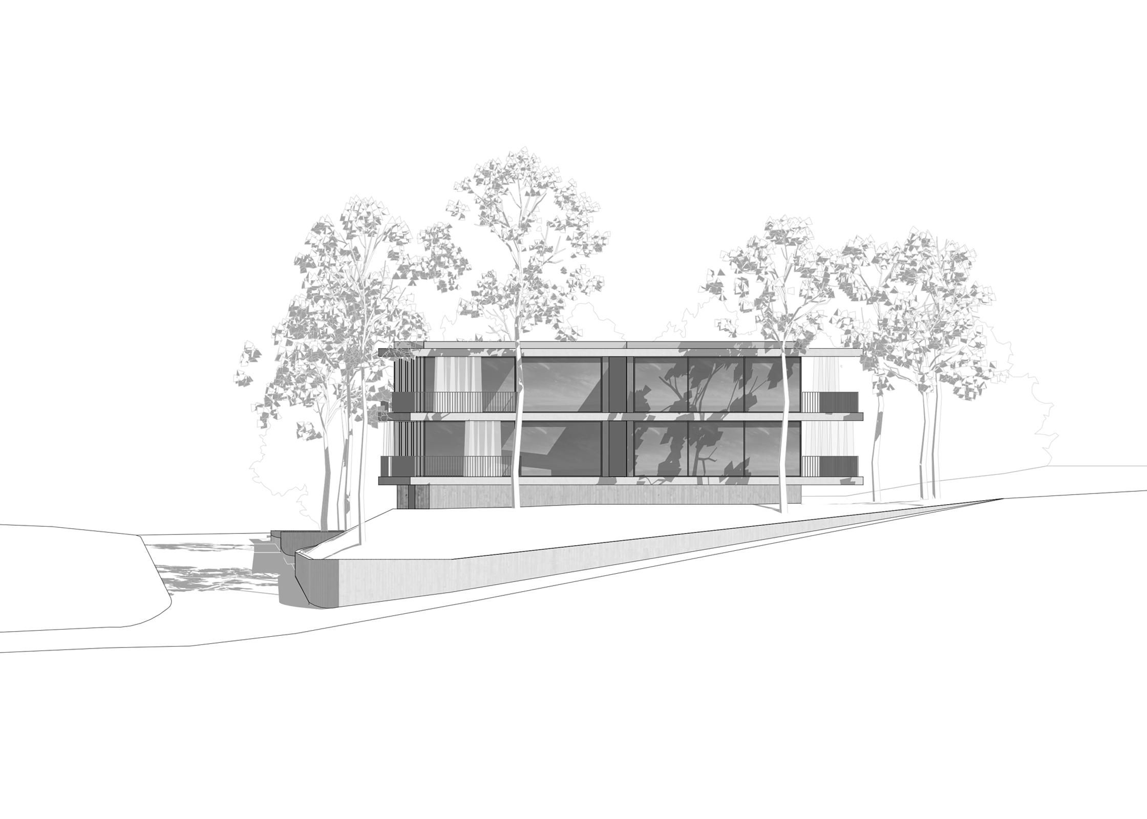 Mehrfamilienhaus Mühlerain Meilen, Eggenspieler Architekten AG