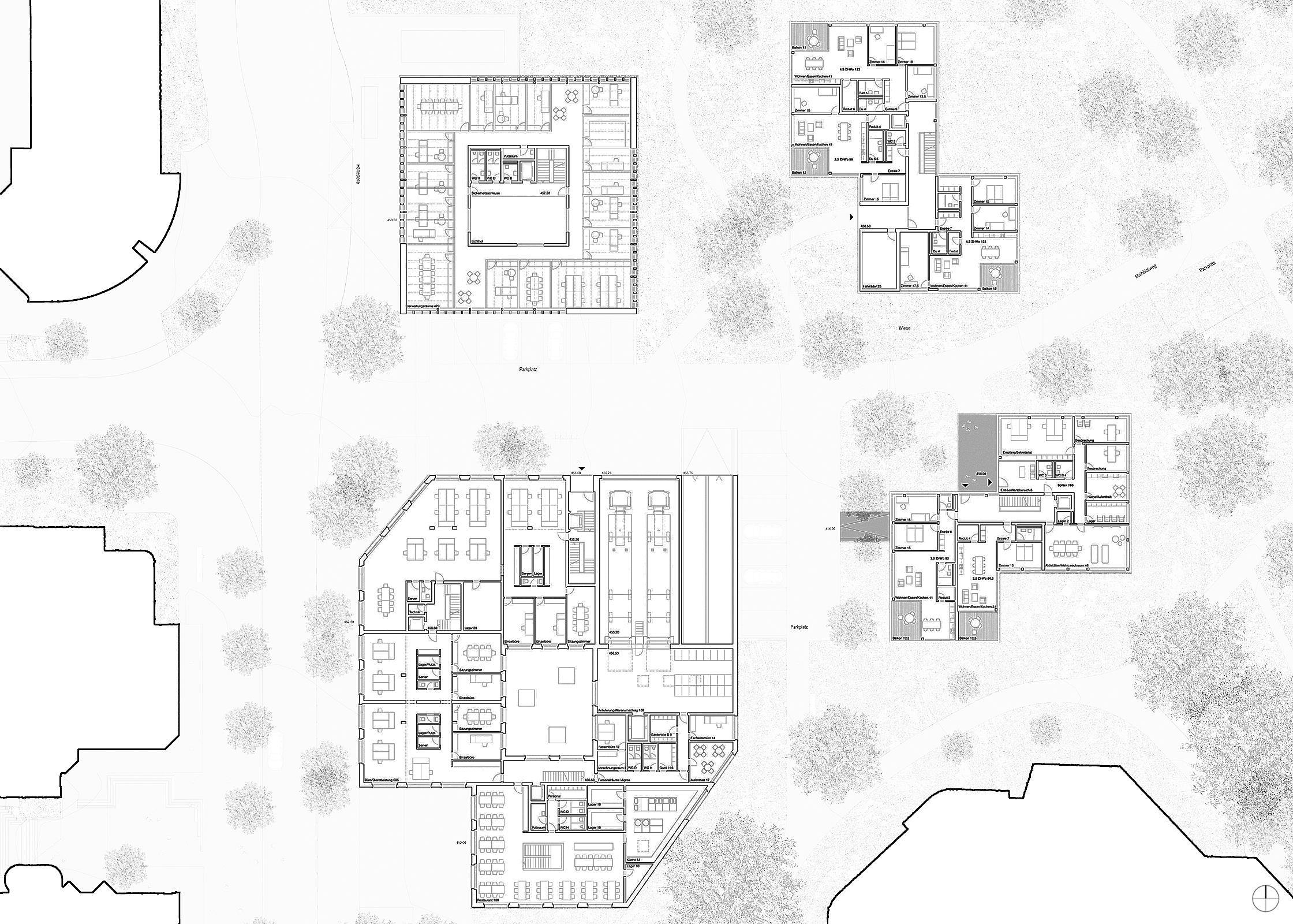 Zentrumsentwicklung Hünenberg, Eggenspieler Architekten AG