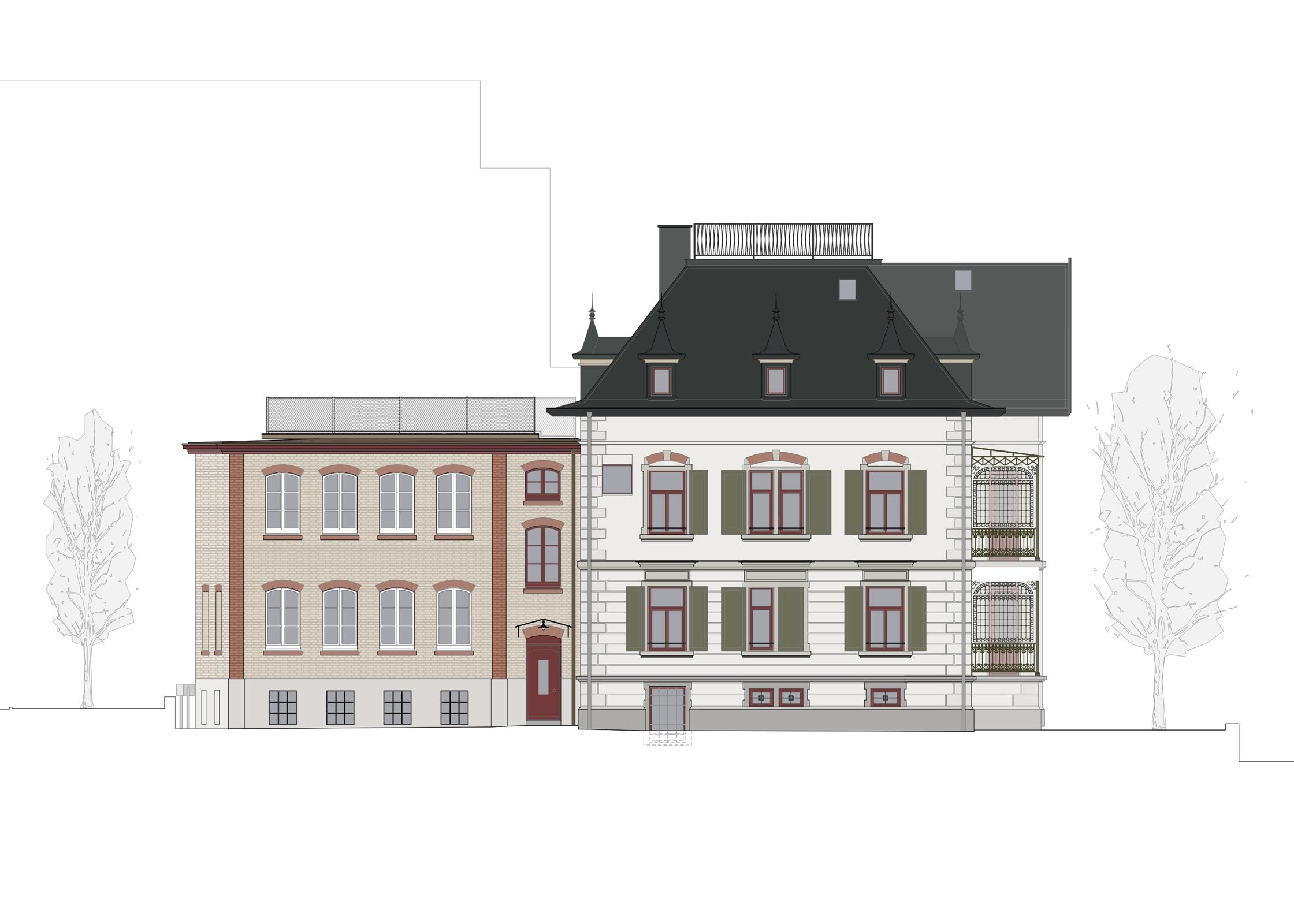 Villa Staub, Zug, Eggenspieler Architekten AG
