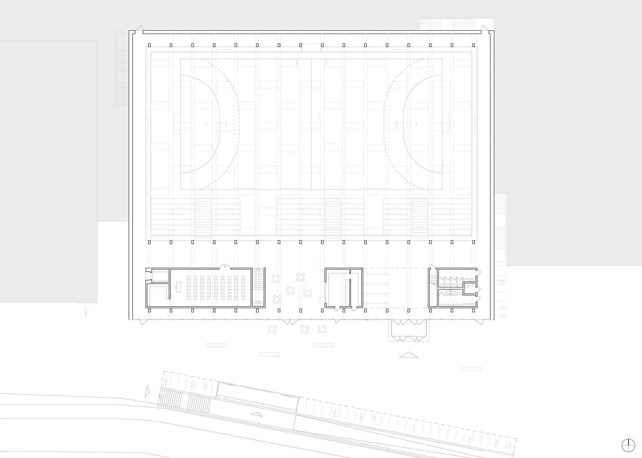 Sporthalle Oberfeld, Eggenspieler Architekten AG