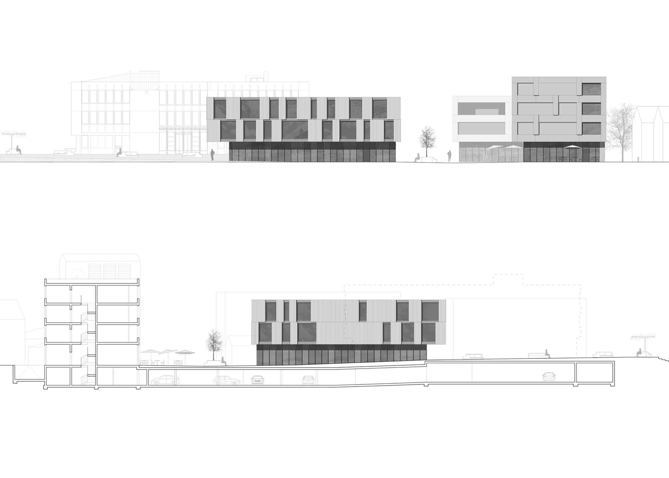 Zentrumsentwicklung Möhlin, Eggenspieler Architekten AG