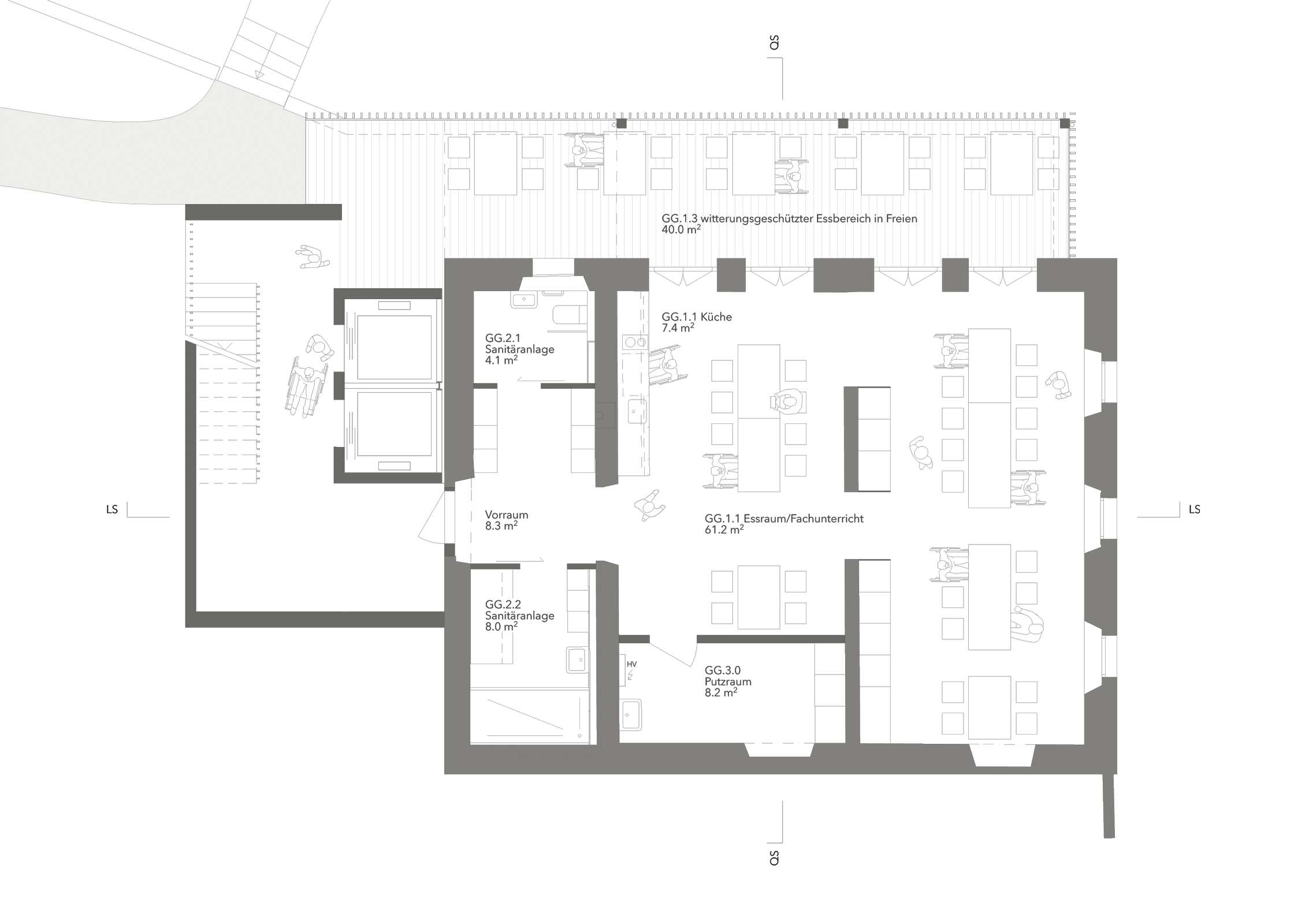 Heilpädagogisches Zentrum, Hagendorn, Eggenspieler Architekten AG